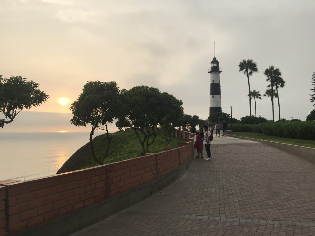 Visiting the Malecón boardwalk is one of the best things to do in Lima.