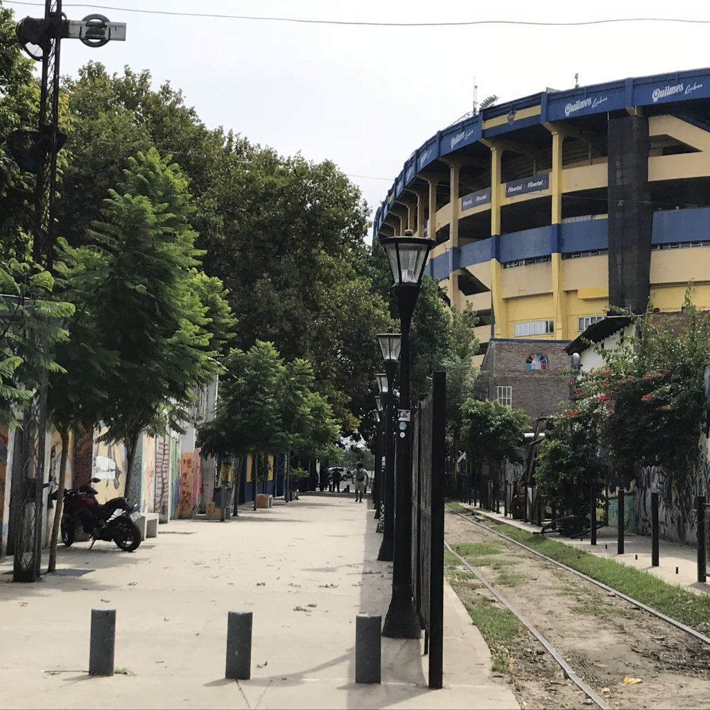 Visiting the La Bombonera Stadium is one of the great things to do in La Boca.