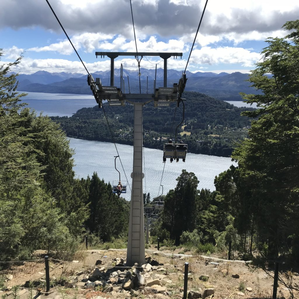 Chairlift is one way for how to get to Cerro Campanario.