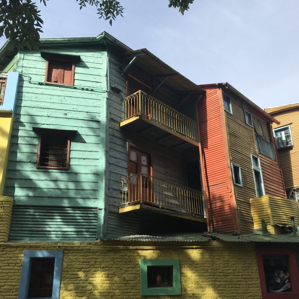 Visiting Caminito Street is one of the best things to do in La Boca.
