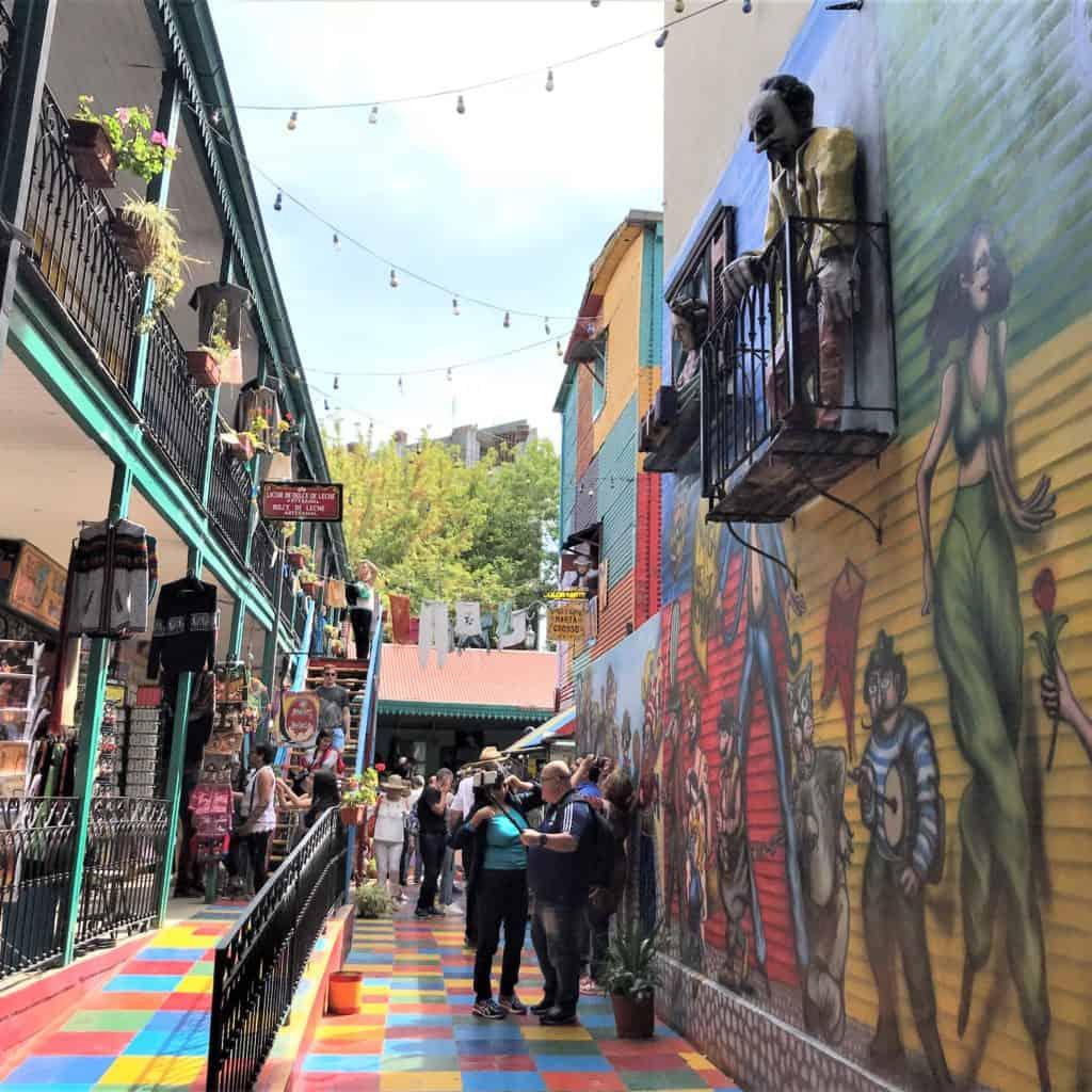 The Centro Cultural de Los Artistas is  a great way to see former Conventillos.