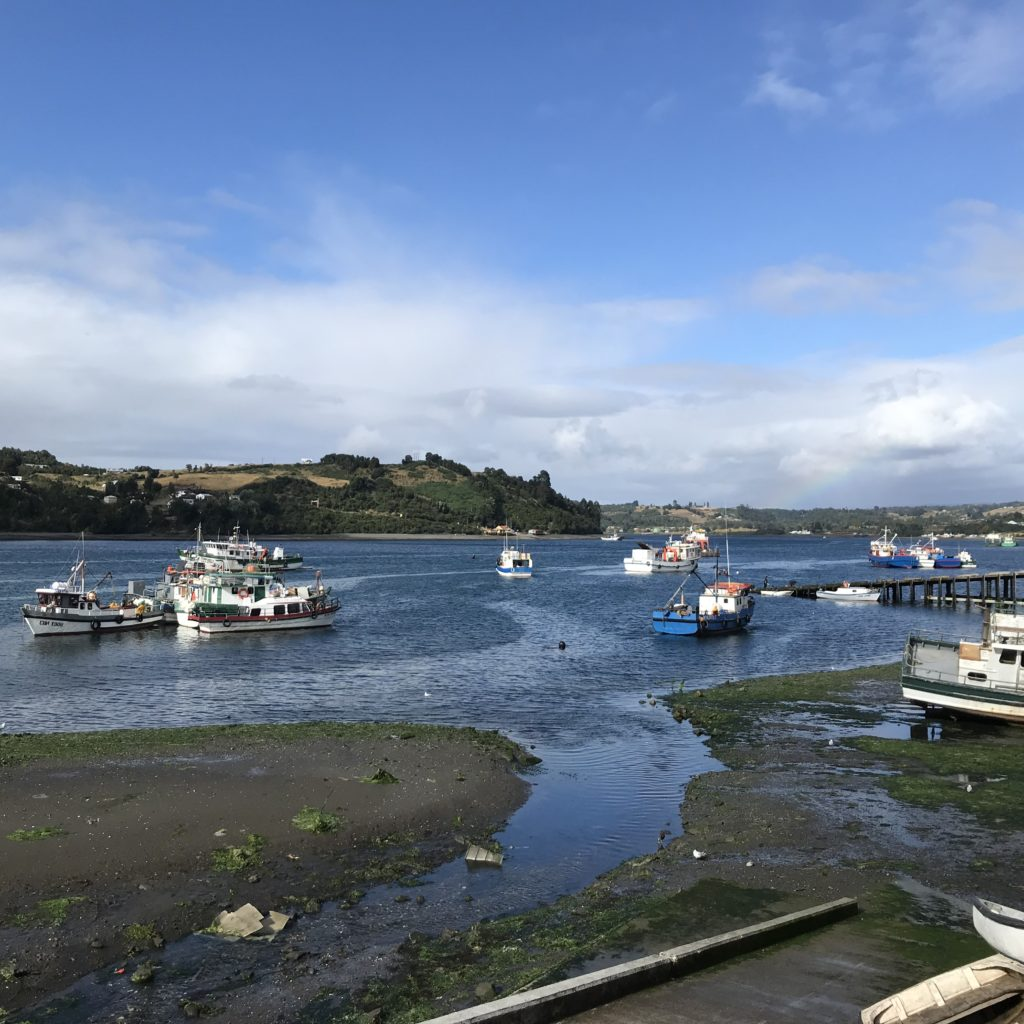 Dalcahue is a great way for how to visit Chiloé Island.
