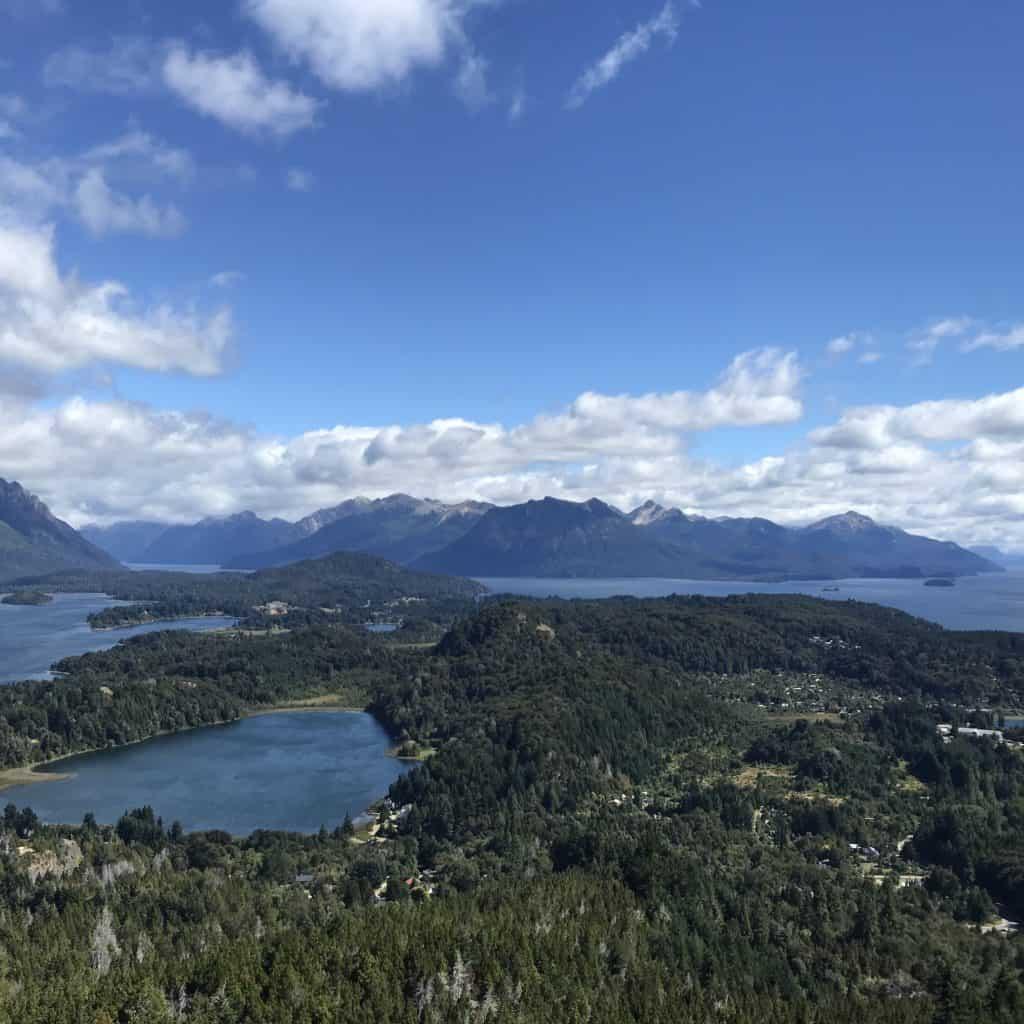 View of Cerro Campanario.