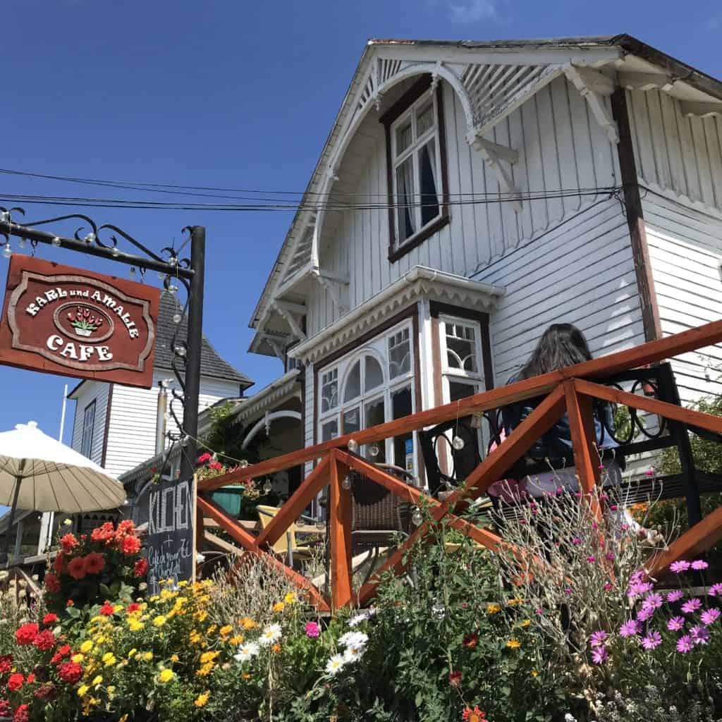 Karl & Amalie Cafe in Frutillar.