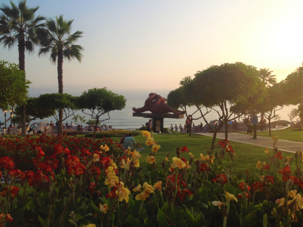 The Park of Love in Miraflores, Lima.