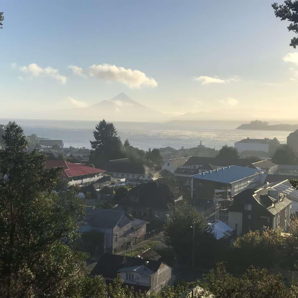 Things to do in Puerto Varas include visiting Monte Calvario.
