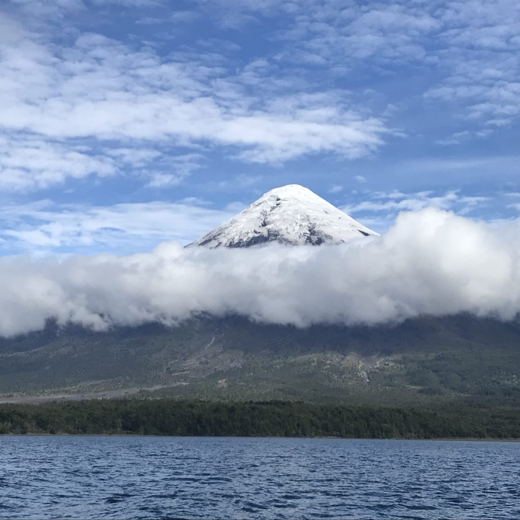 Hiking the Osorno volcano is are among the things to do in Puerto Varas as a day trip.