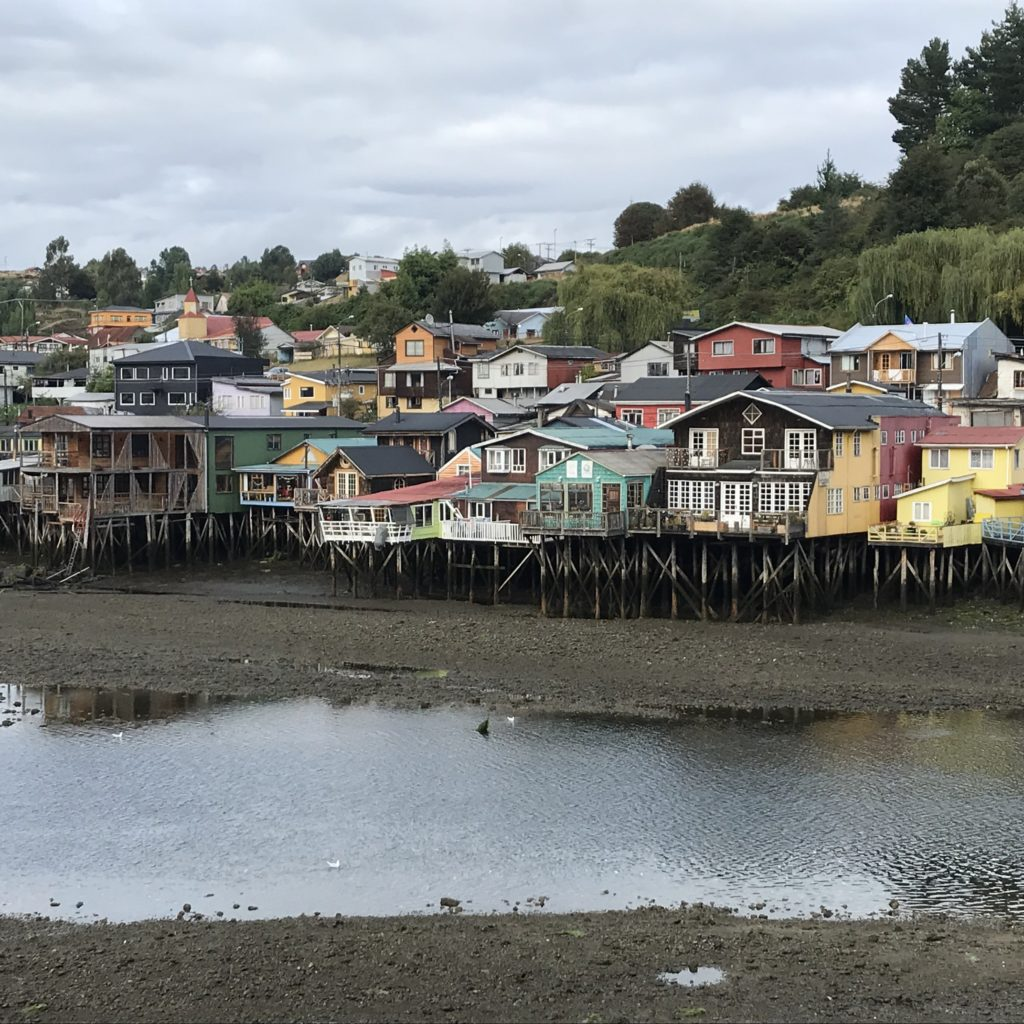 Trip to Palafitos de Gamboa is a great way for how to visit Chiloé Island.