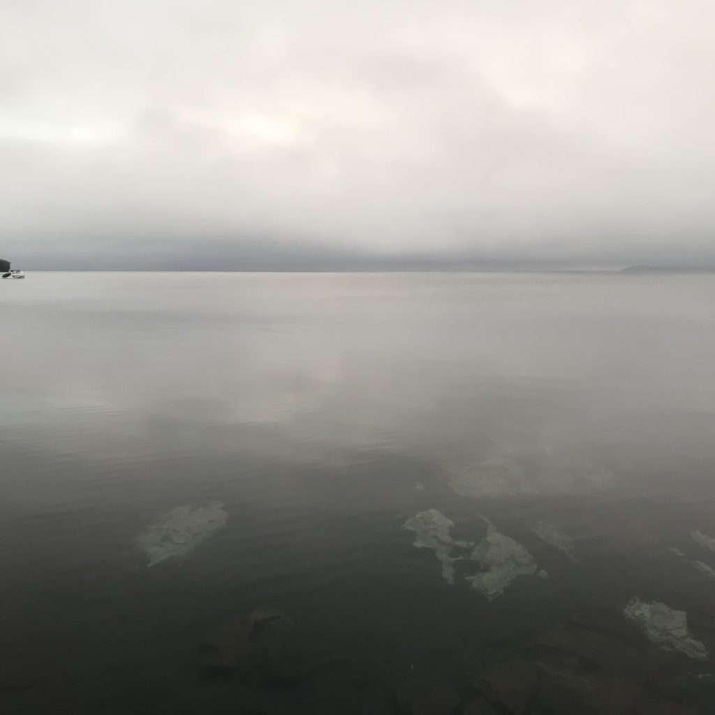 Cloudy day in Puerto Varas.