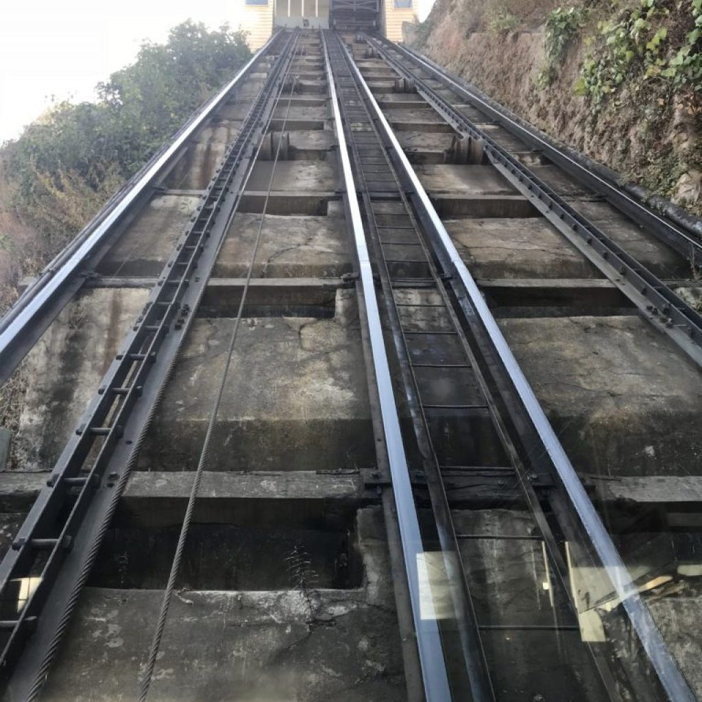 The Reina Victoria Funicular.