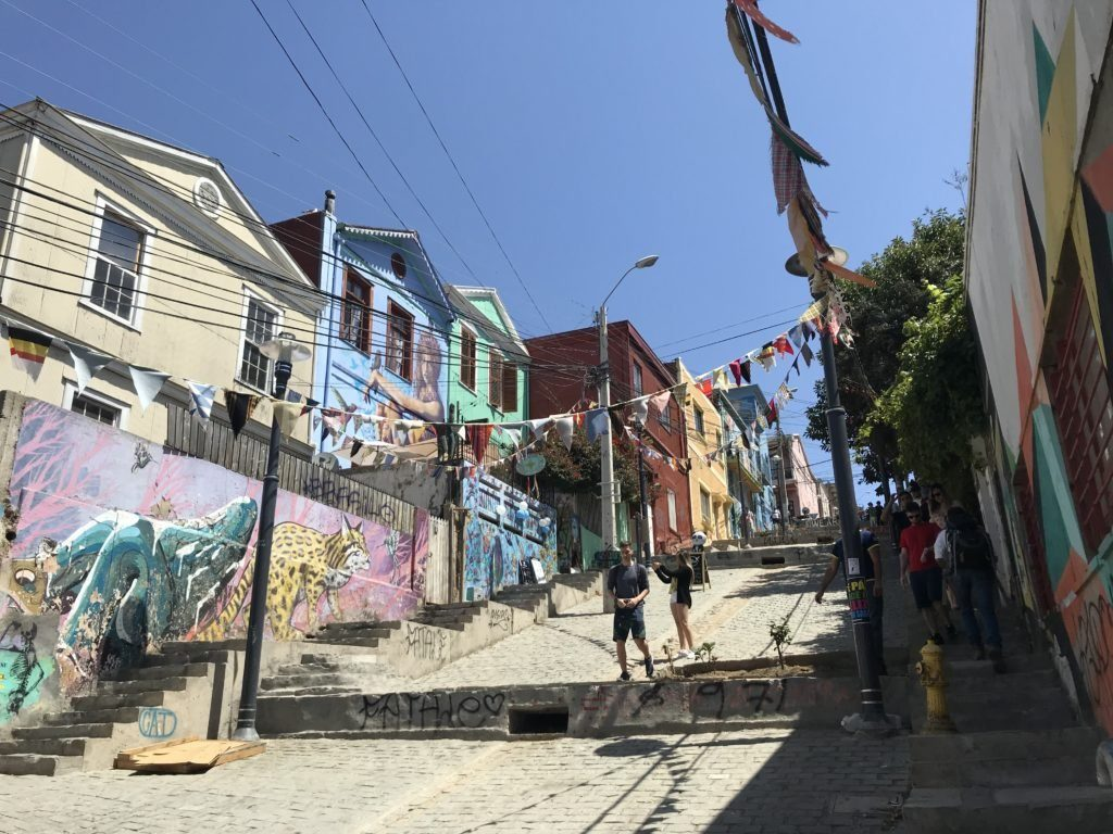 A complete guide to Valparaíso wouldn't be complete without including Templeman street.