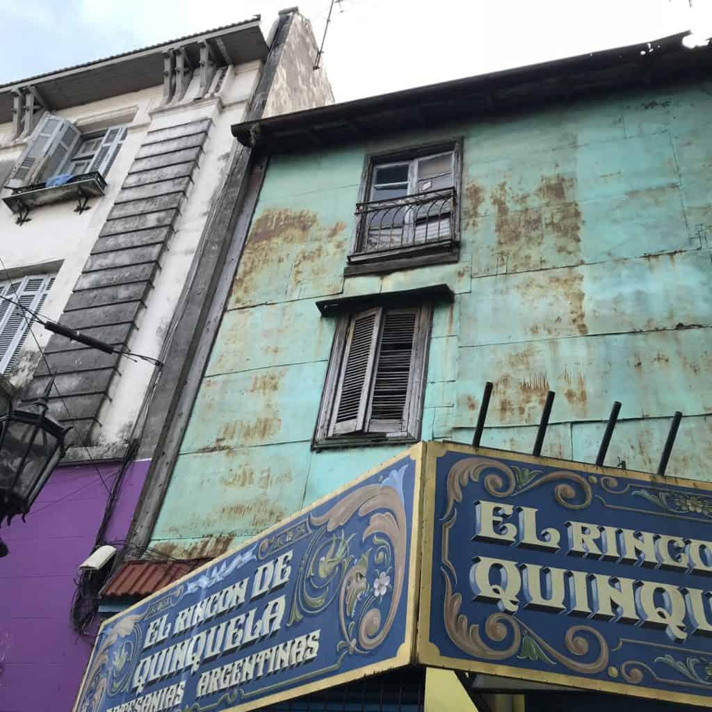 Conventillos in La Boca, Buenos Aires.