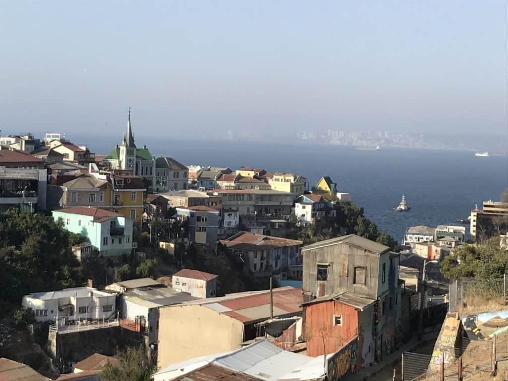 Iconic photo of Valparaíso.