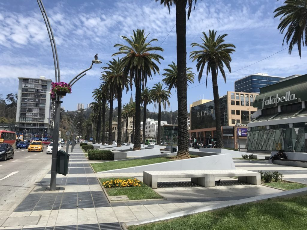 Downtown Viña del Mar.