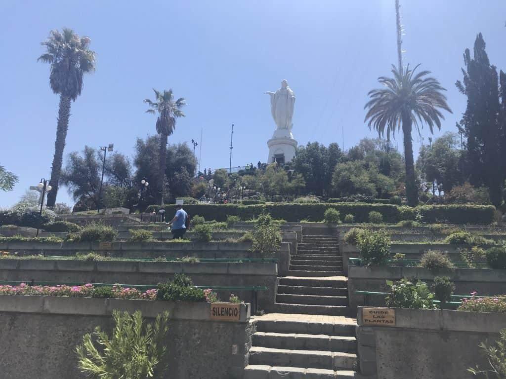 Virgin Mary statue at San Cristóbal.