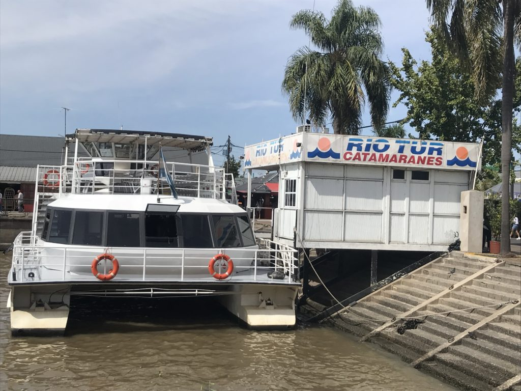 How to visit Tigre Delta: Taking a boat ride is a great way to explore the river.