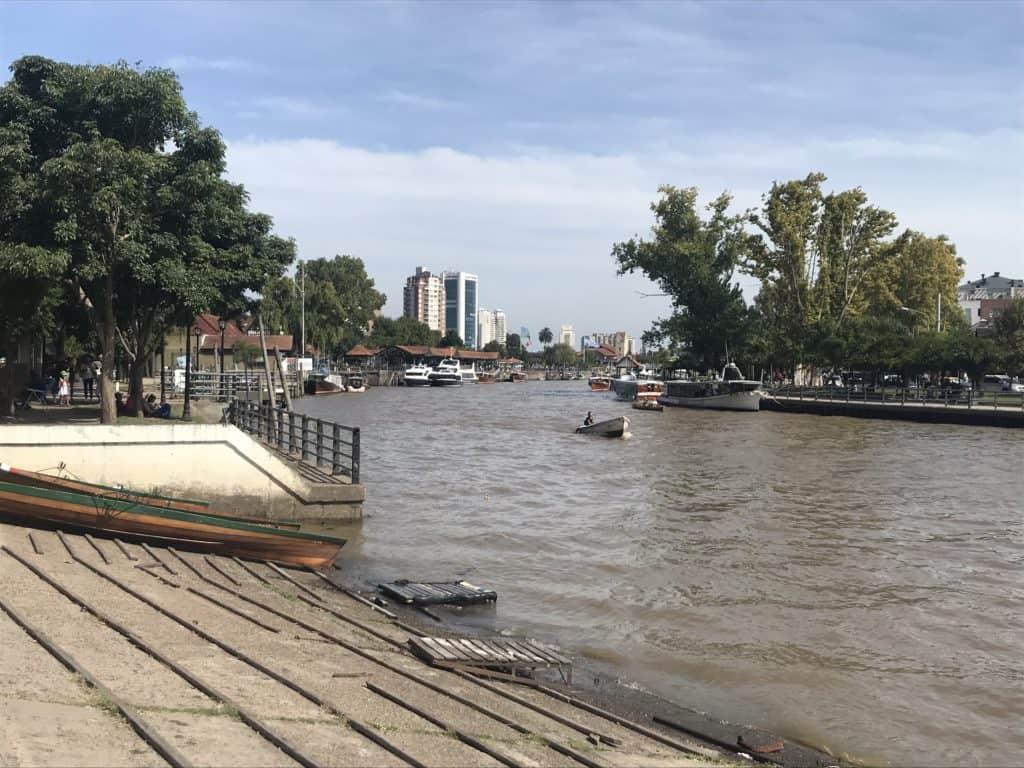 Boat on the Tigre Delta.