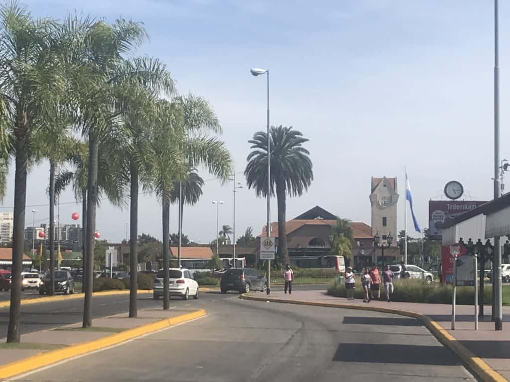 The Tigre station by the Tigre Delta.