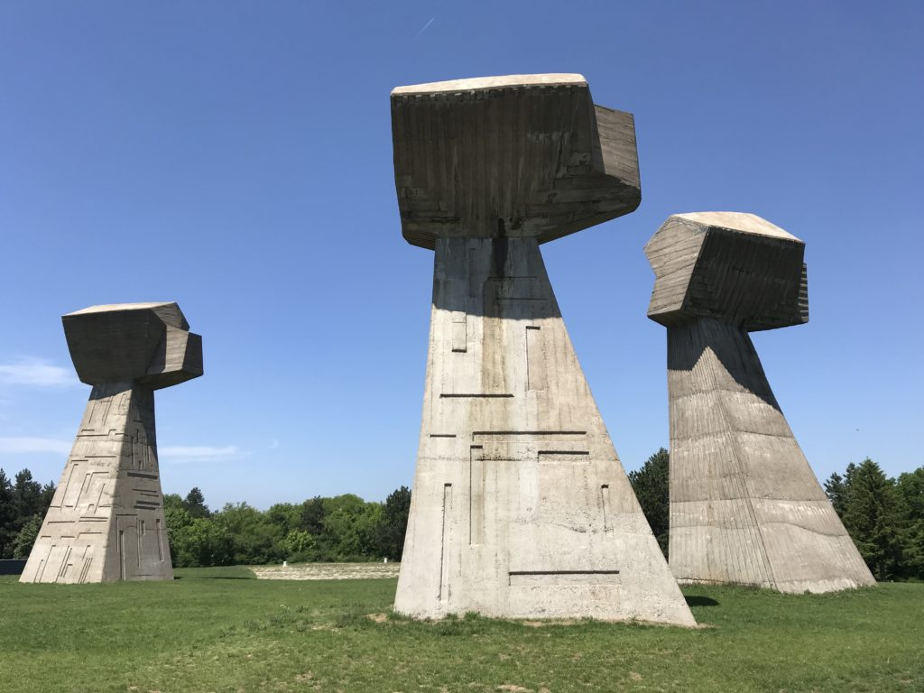 Visiting Bebanj Memorial Park is a must-see thing to do with a day trip to Niš, Serbia.