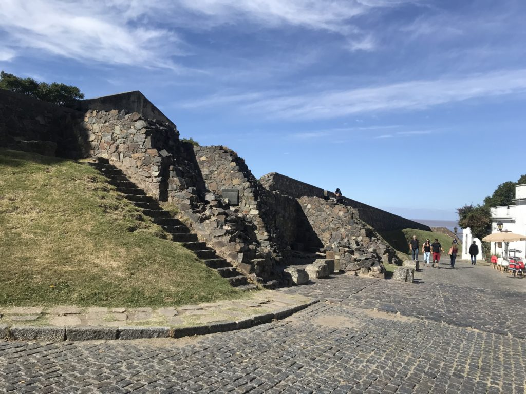The fortress in Colonia.