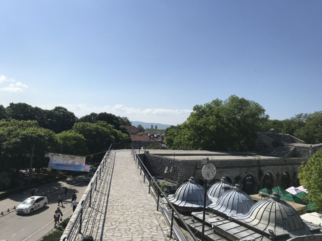 Walking on the top of the fortress is one of the best things to do with a day trip to Niš.
