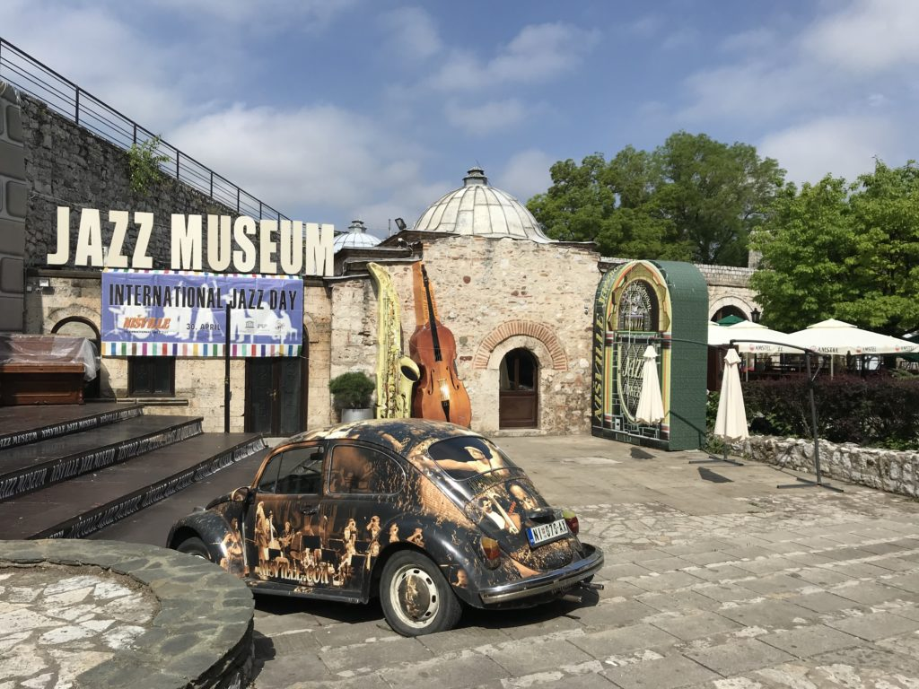 A jazz festival takes places in the fortress of Niš each summer.  You'll need more than a day trip to Niš for this visit!