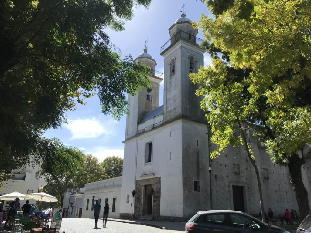 View of the Matriz Church.