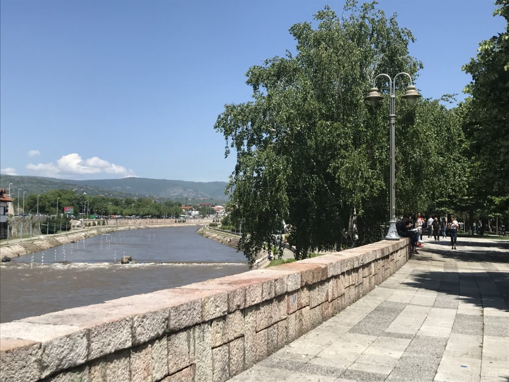 Walking along the river is a great thing to do with a day trip to Niš.
