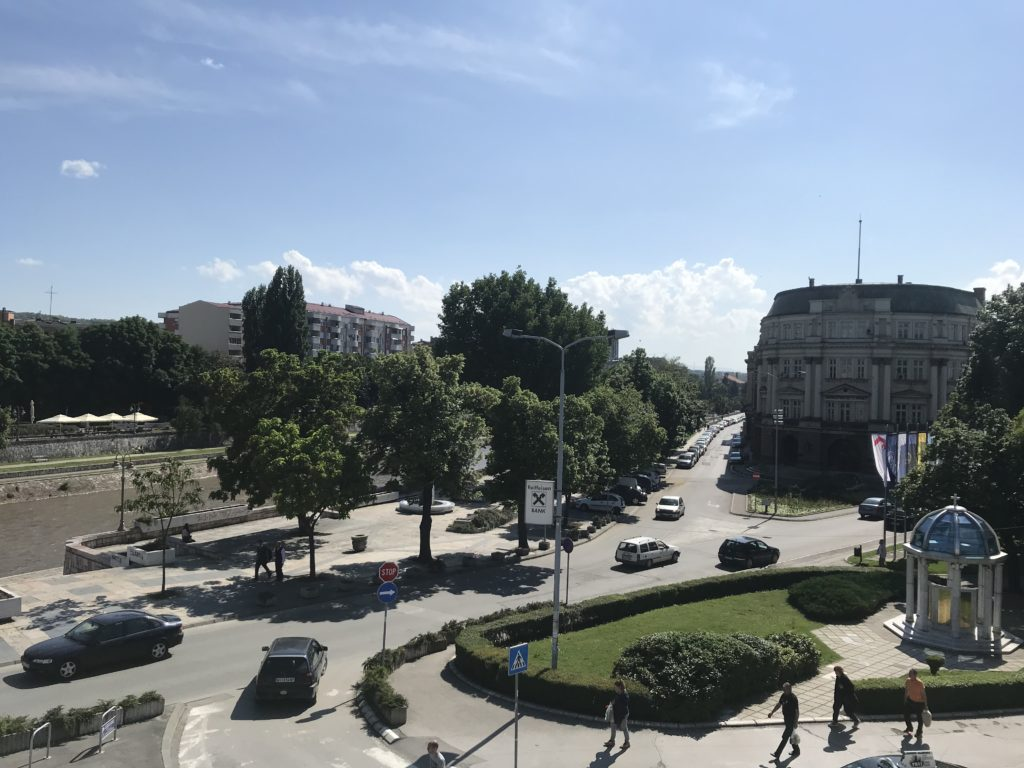 A view of Niš from the fortress.