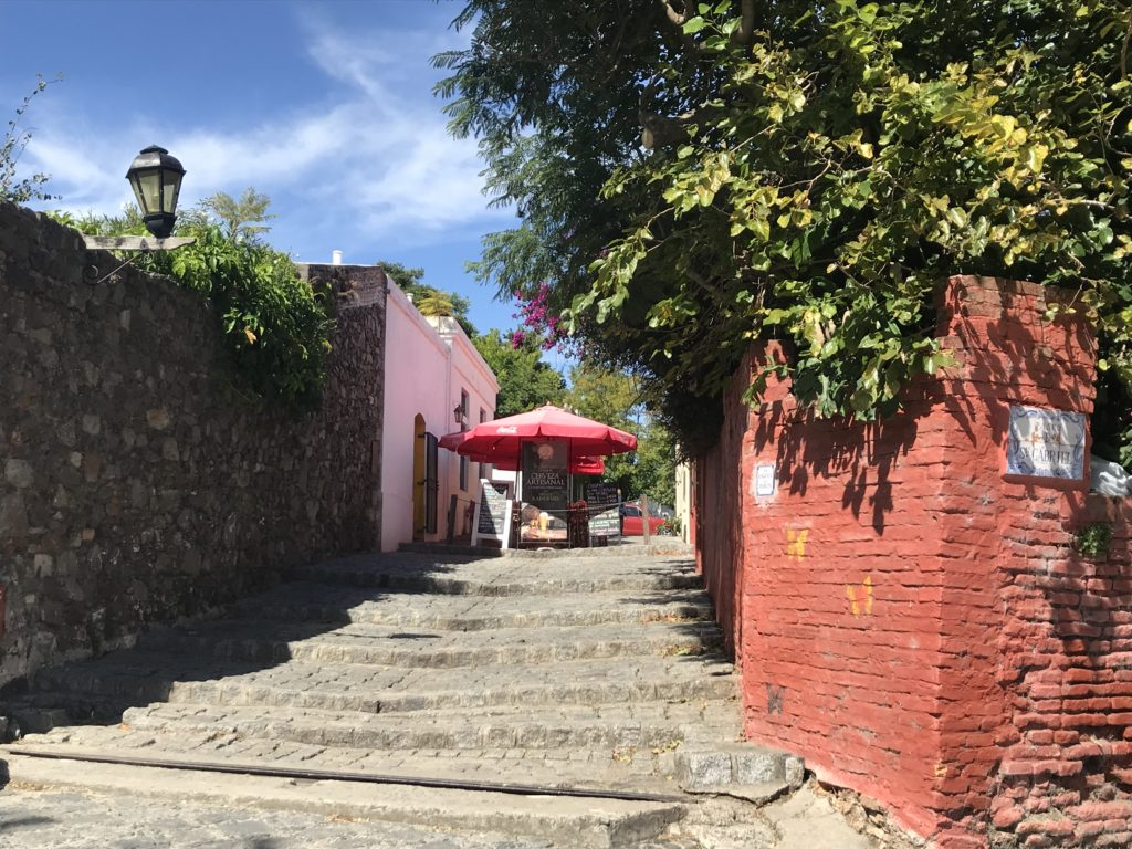 Streets in Colonia.