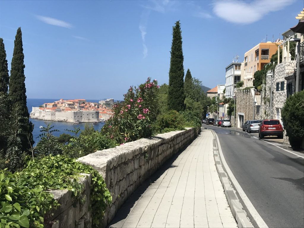 One of the best things to do in Dubrovnik is taking a walk to the south of the old town.