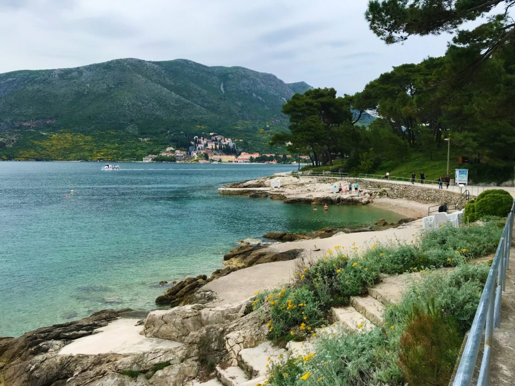 The boardwalk wrapping around the peninsula is a great thing to do with a day trip to Cavtat.