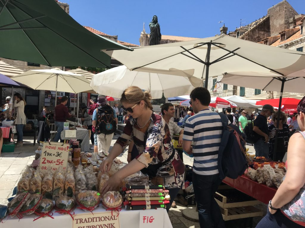 Accessible things to do in Dubrovnik include visiting the Gundulićeva Poljana Market.