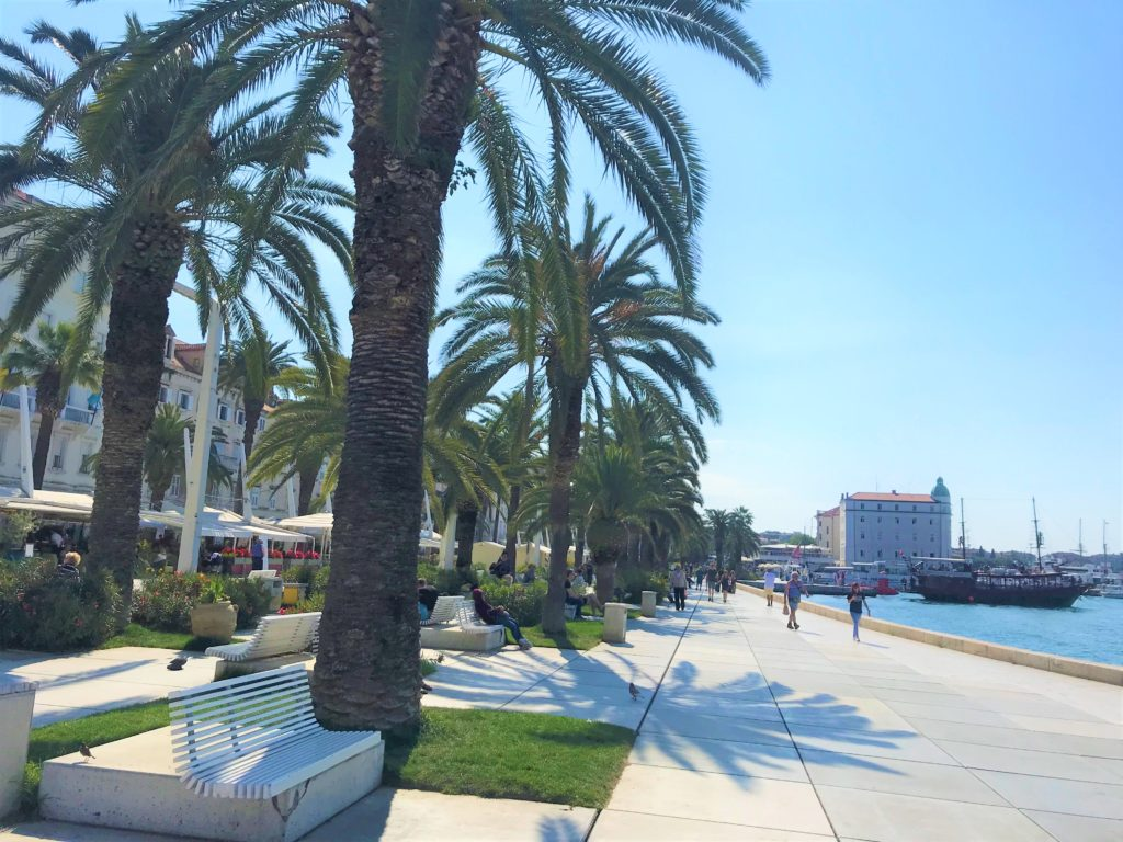 The Riva Promenade has wide, flat accessible pathways.