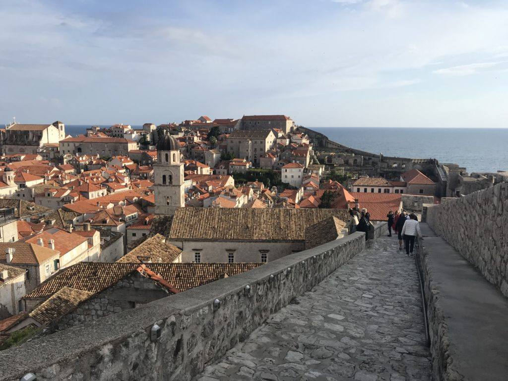 Walking the city walls is one of the best best things to do in Dubrovnik Croatia.