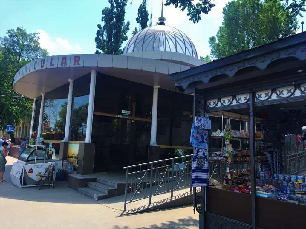 Funicular in Odessa.