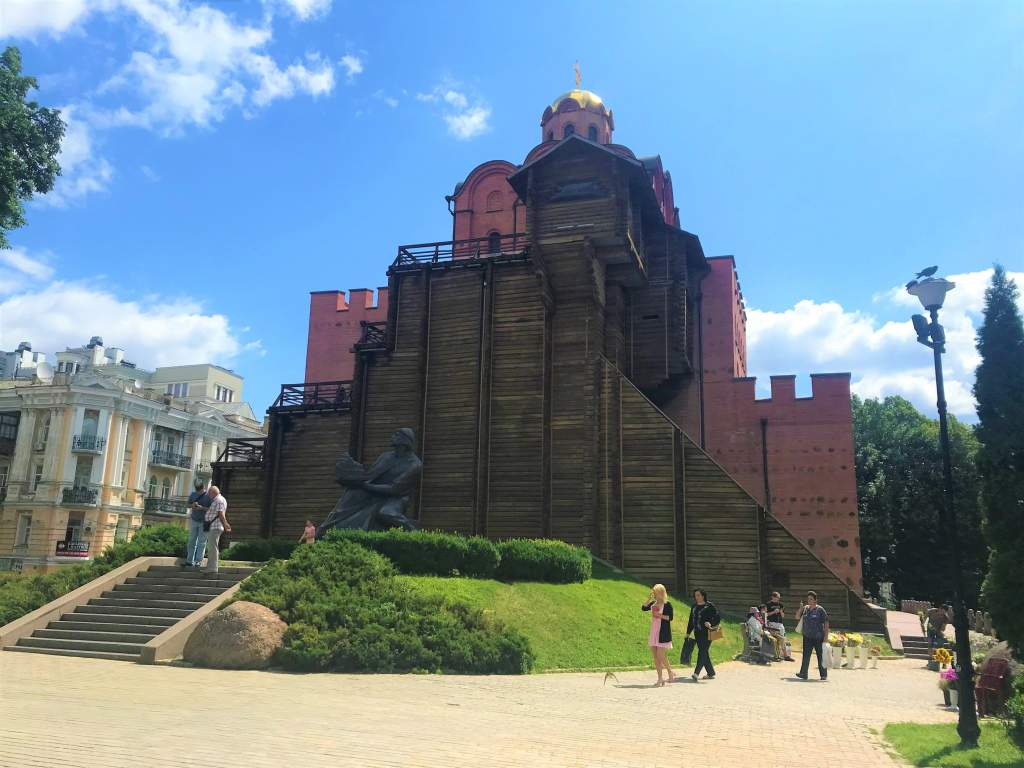 Visiting the Golden Gate is one of the popular things to do in Kyiv.