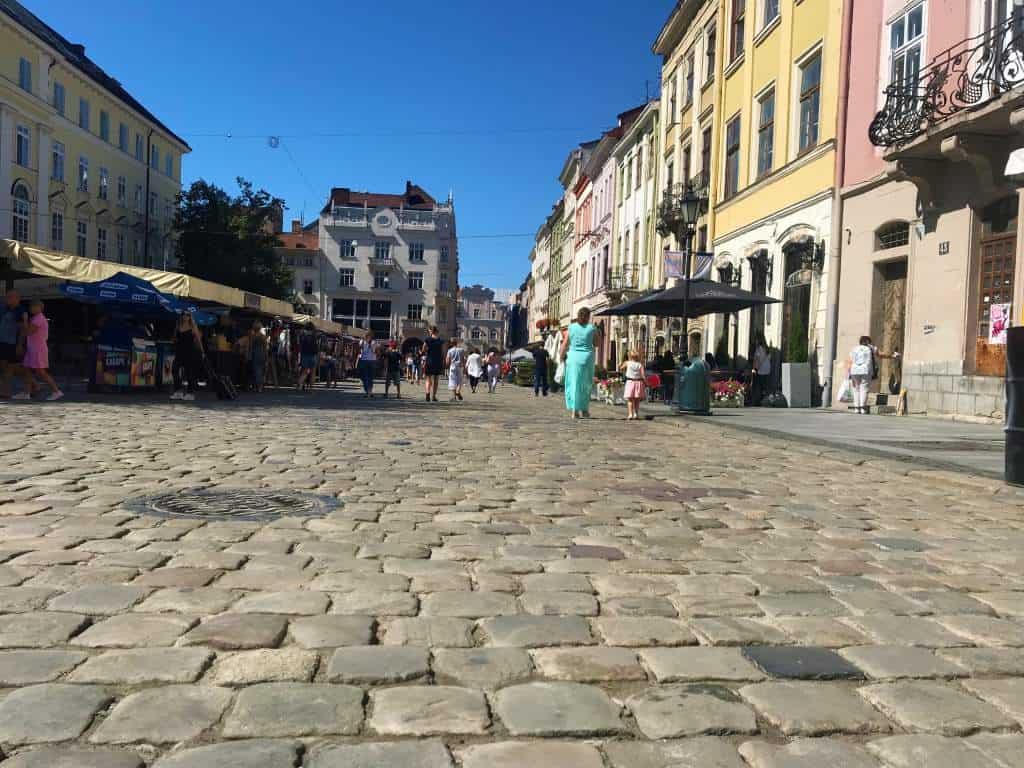 A Wheelchair User's Guide to Lviv, Ukraine