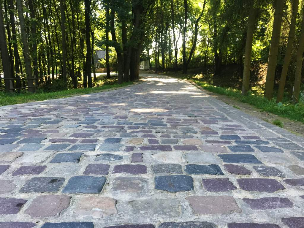 Cobblestone streets make the Lviv Open Air Museum trickier for wheelchair users.