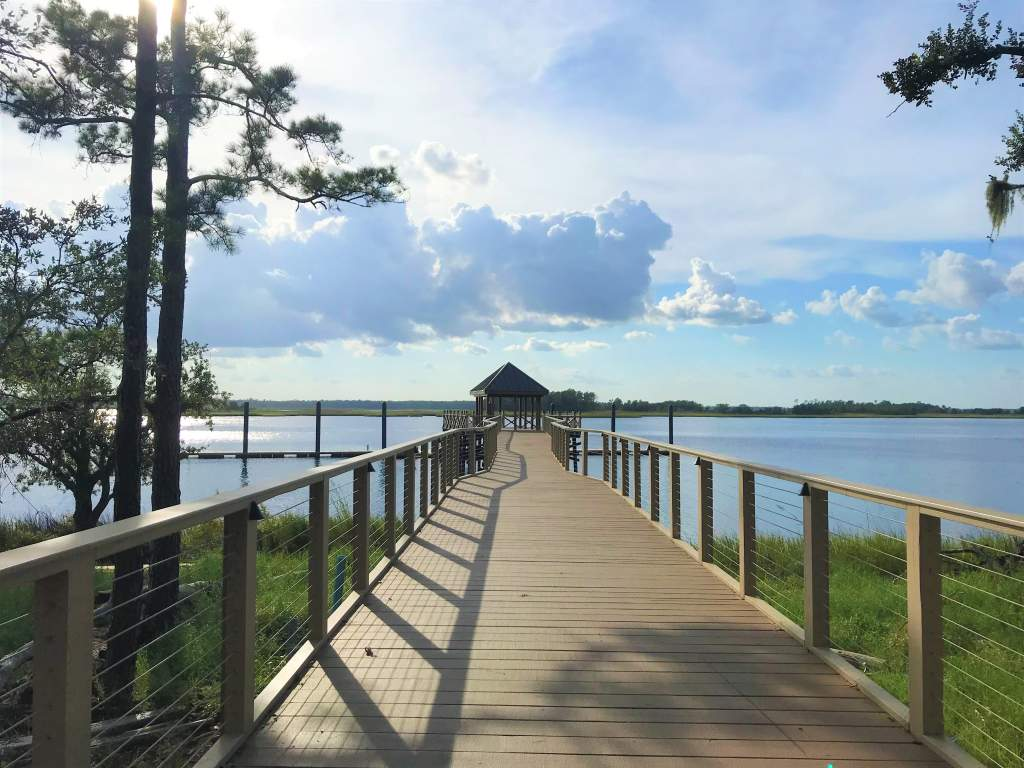 The Boardwalk at Riverlights is a more off-the-beaten path wheelchair accessible destination in Wilmington.
