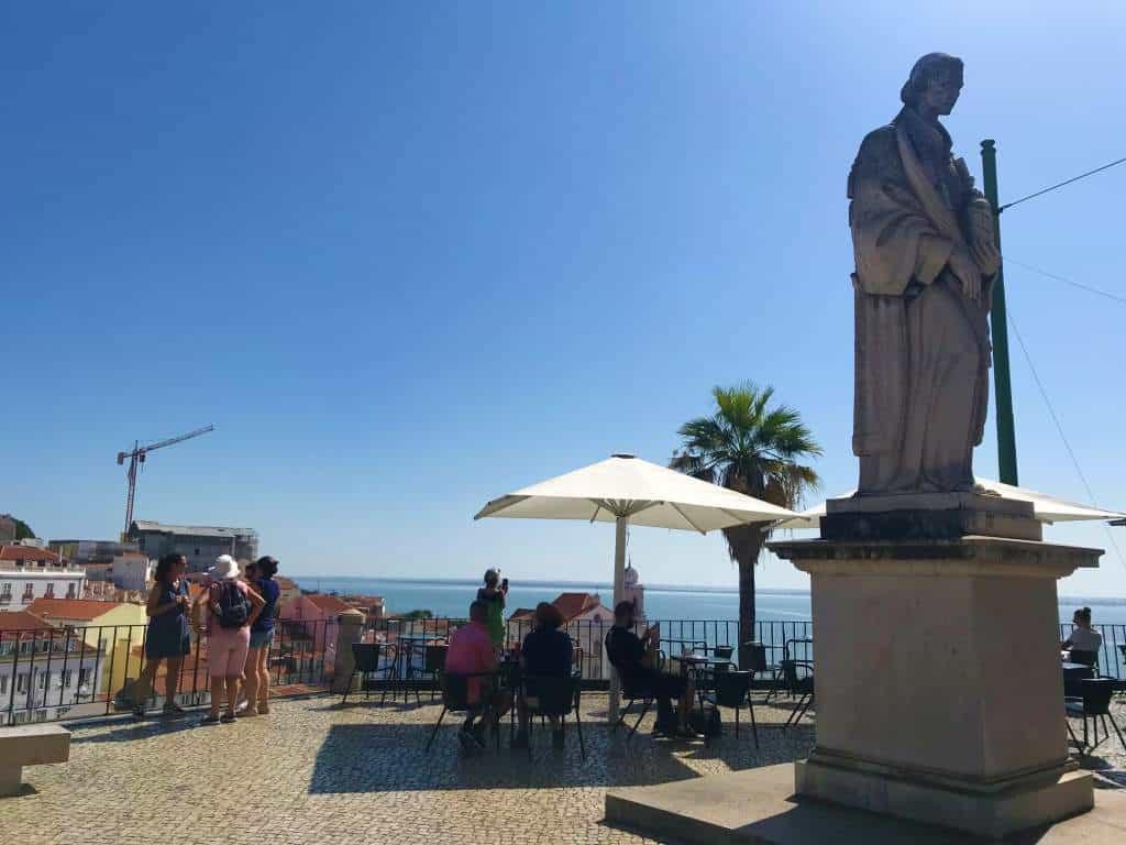Miradouro das Portas do Sol is a fantastic wheelchair accessible activity in Lisbon.