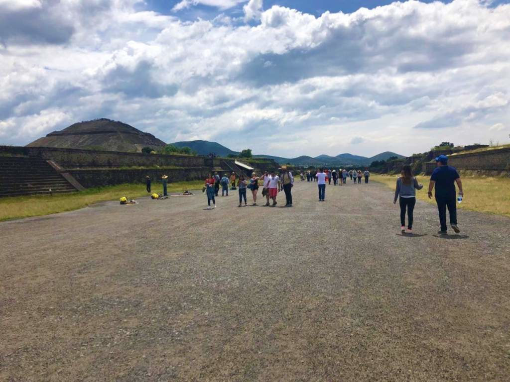 A gravel path at Teotihuacan makes this visit less than ideal for wheelchair users.