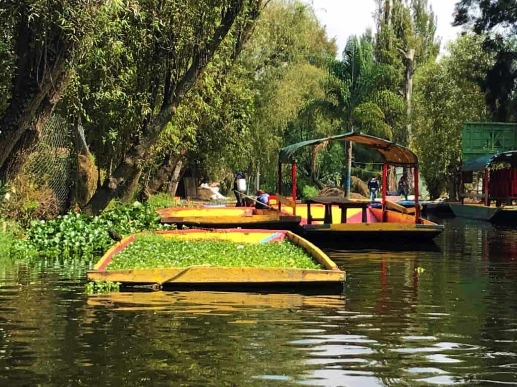 A nursery on a boat.
