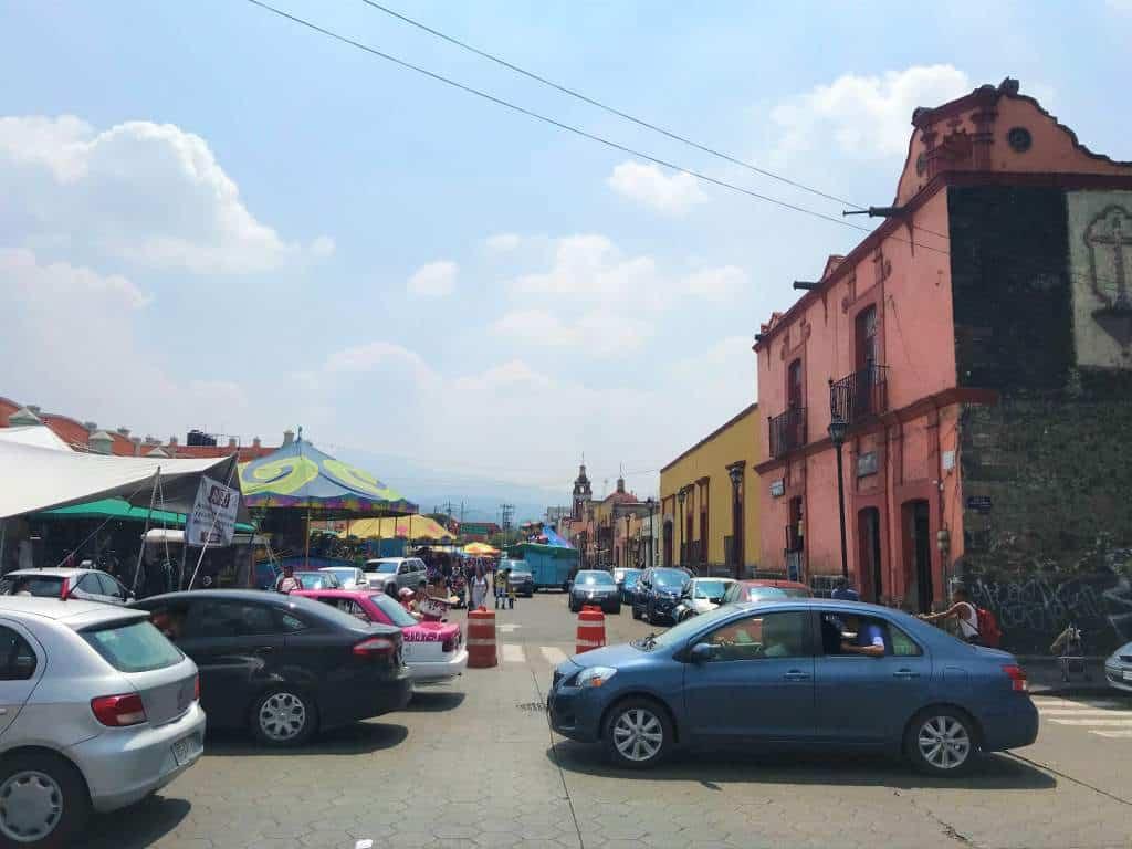 Downtown Xochimilco.