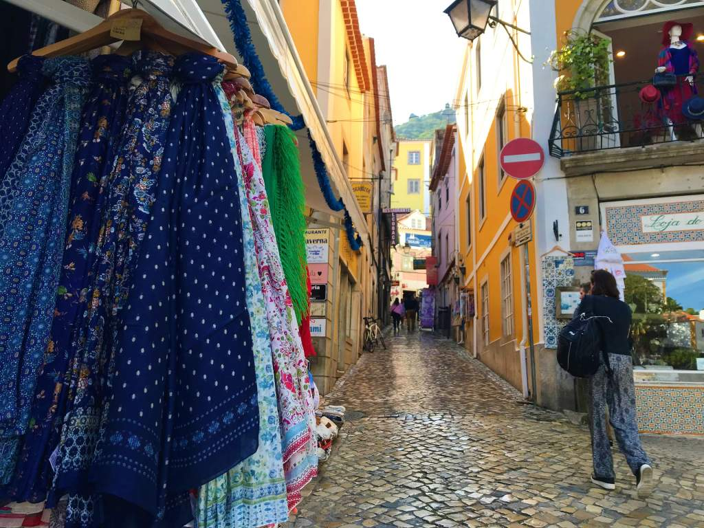 Narrow streets make wheelchair accessibility in Sintra difficult, but not impossible.