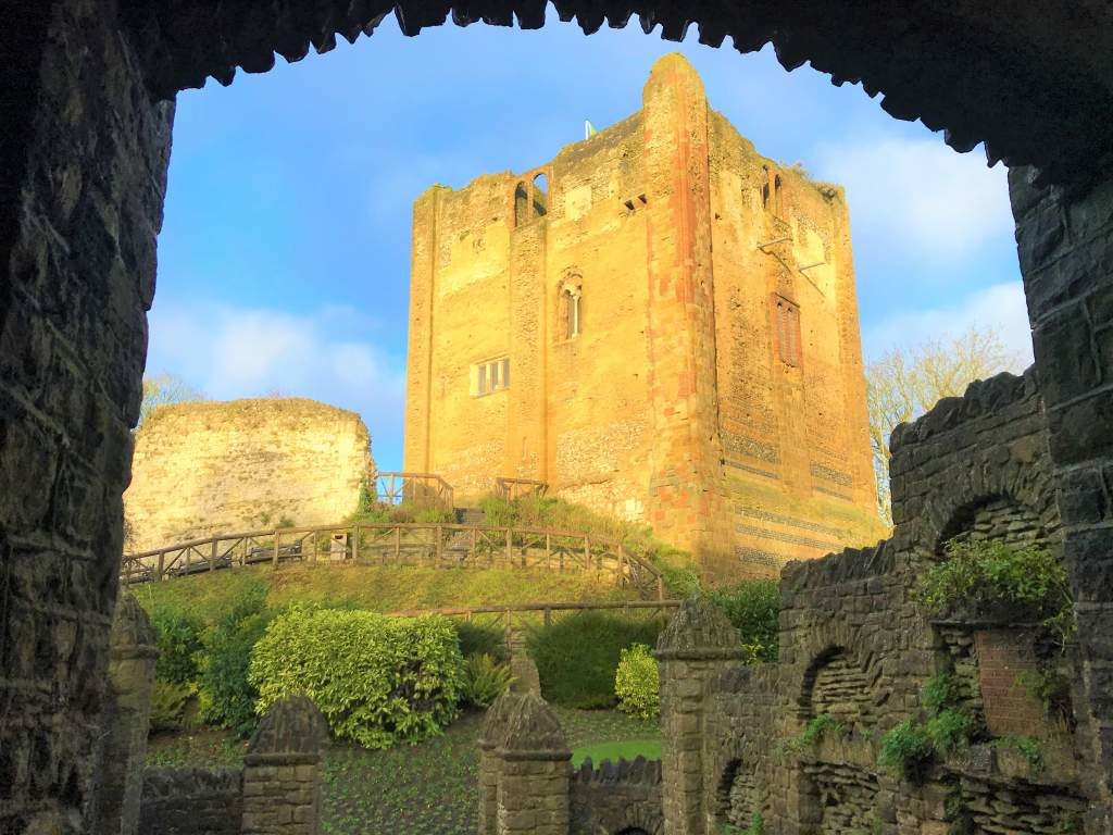 A view of the Guildford Castle.