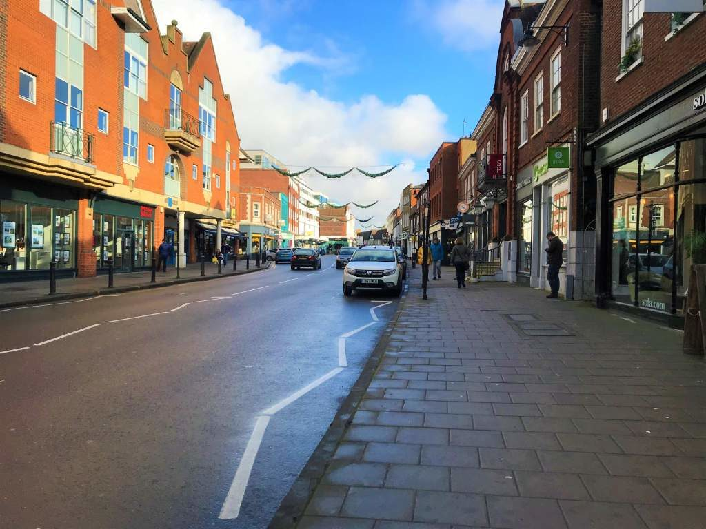 North Street in Guildford.
