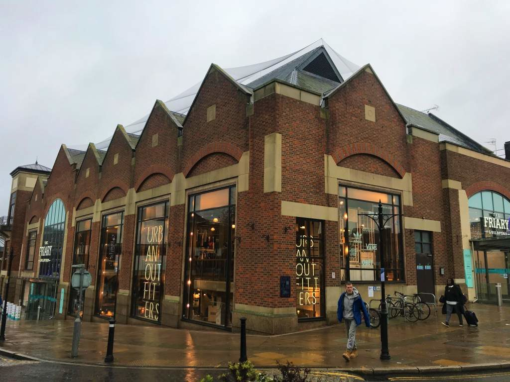 The Friary shopping center in Guildford.
