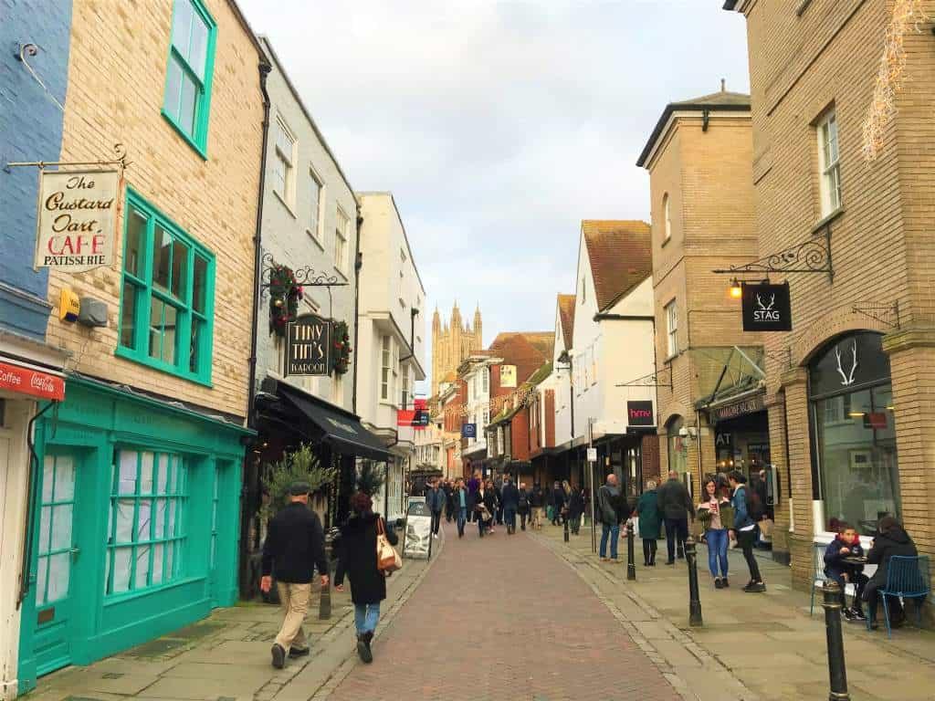 A Wheelchair User's Guide to Canterbury, England