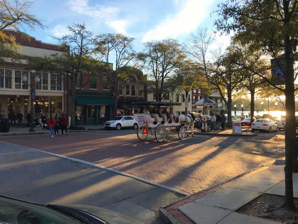 The historical downtown of Wilmington.